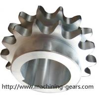 Large Diameter Stainless Steel Conveyor Chain Sprocket ISO 9000 Certificated Manufactures