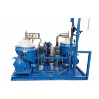 Professional Waste Oil Centrifuge Separator Module Low Power Consumption Manufactures