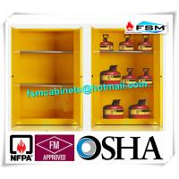 Explosion Proof Chemical Storage Cabinets With Adjustable Shelf For Gas Cylinders Manufactures