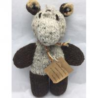 Primitive Hand Knitted Kenya African Women Hand Made Homespun Wool Horse Bear Manufactures