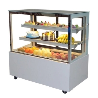 R404a Refrigerated Cake Display Cabinets With Danfoss Compressor Manufactures