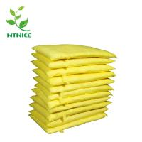 China ISO 9000:2008 100% PP yellow industrial chemical haz-chem Spill Control Absorbent pillow on sale