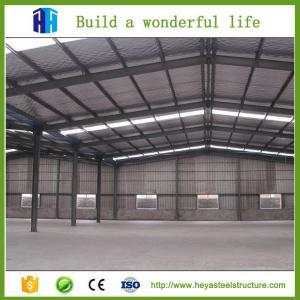 China Steel storage building ready made warehouse sandwich panel garage on sale