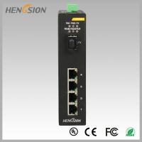 Fully Managed Industrial Gigabit Ethernet Switch 1 Gigabit FX SFP and 4 Gigabit Electric Port Manufactures