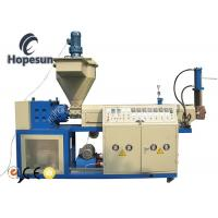 Recycled Plastic Pellet Extruder Maker Long Service Life One Year Warranty Manufactures