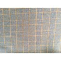 China Double Faced Modern Plaid Fabric ,  Soft Tartan Fabric For Curtains on sale