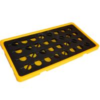 Buy cheap Chemical spill decks 2 Oil Drum Containment Pallet for Chemical Storage And from wholesalers