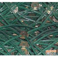 Green plastic rock slope stabilization Gabion Protective Mesh 50mm*50mm Hole Manufactures