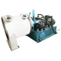 Horizontal Two Stage Pusher Centrifuge Machine Salt Making Equipment From Seawater Manufactures