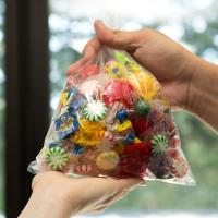 """8"""" X 10"""" Commercial Food Bags Custom Printed Plastic For Candy Storage Manufactures"""