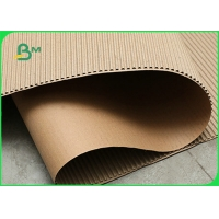 Buy cheap Single Face Corrugated Cardboard For DIY Crafts 110gsm + 120gsm Flat Surface from wholesalers