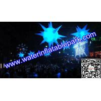 Lighting Inflatable Spiky Star Decoration , Inflatable Spiky Ball Manufactures