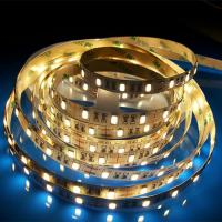 High Lumen IP20 Durable LED Strip Tape Warm White Indoor LED Flexible Strip Light Manufactures