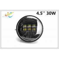 China 4.5Inch 30W CREE LED Motorcycle Headlight Fog Light Lamp Kit Work Driving Lamp for Harley Davidson Motocycles Accessory on sale