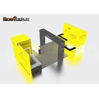 3x3m Small Trade Show Booth Equipment Easy Set Up Custom Color For Exhibition Manufactures
