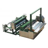 China Non - woven Embossed Line Slitting And Rewinding Machine CE Approval on sale