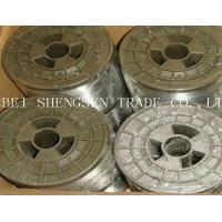 Building Material Low Carbon Steel Wire , High Tensile Hot Dipped Galvanized Wire Manufactures