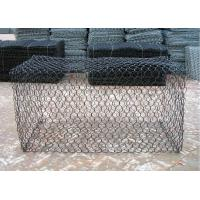 Hot dip galvanized hexagon Wire Mesh Gabion box for landslide prevention Manufactures