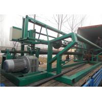 High Efficiency Gabion Mesh Machine 4m Width Fast Speed Automatic Stop And Counter