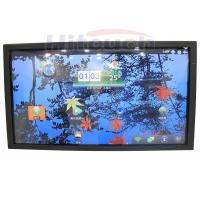 HT-LCD82M2, 82 inch multi touch screen monitor,touch LCD TV with front panel fancy design Manufactures