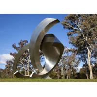 Garden Large Modern Abstract Stainless Steel Decorative Sculpture Manufactures