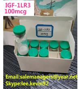 Igtropin IGF LR3 -1 100mcg Human Growth Peptides HGH White Lyophilized Powder