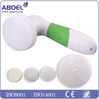 Buy cheap 4pcs AA Battery Electric Facial Cleansing Brush For Removing Black Head from wholesalers