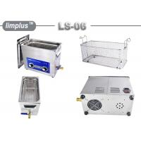 Commercial 6.5liter Oil Remove Circuit Board Ultrasonic Cleaning Machine Manufactures