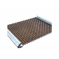 High Carbon Steel Aggregate Screening Media With Hooks For Mining Industry Manufactures