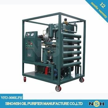 Quality Dielectric Transformer Oil Purifier Dehydration Degassing Regeneration Power Maintenance for sale
