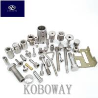 Durable Custom Mechanical Parts Precision CNC Machined Parts With Milling Process Manufactures