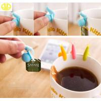 100% Imported Food Grade Silicone Snail Tea Bag Holder For Promo Gifts Manufactures