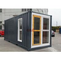 Durable Furnished Multi - Function Modified Prefab Shipping Container Homes Manufactures
