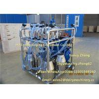Cheap Petrol Power Mobile Milking Machine With Electric Motor And Gasoline Engine for sale