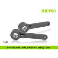 GH19 G Type CNC C Wrench Tool , 2 Inch Spanner Hook Wrench With Pin Manufactures