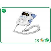 Baby Sound Handheld Fetal Doppler , Baby Heart Doppler For Routine Examination Manufactures