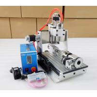 Heighten Version 3020 Water cooling + 4 Axis CNC3020 Desktop 3D CNC Milling Machine Manufactures