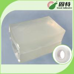 Colorless transparent Block Pressure Sensitive Hot Melt Glue , Colorless Transparent Medical Tape Adhesive Hot Melt Manufactures