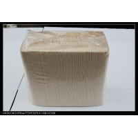 Eco Friendly cola / cocktail party Brown Kraft Paper Tissue support low fold Manufactures