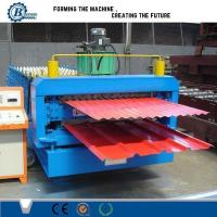 High Efficiency Double Layer Roll Forming Machine With Automatic PLC Control System Manufactures