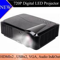 Home Cinema LED LCD Projector 720P Resolution HDMI USB Beamer Proyector HD Image Projetor Manufactures