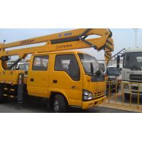 96kw Platforms Boom Lift Truck Horizontal Reaches Up To 18 Meters Manufactures