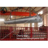 Stainless Steel Wedge V Wire Screen , Metal Well Pipe Screens Liquid Filter Manufactures