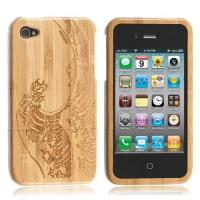 Cheap Hard Bamboom Cases for iphone 4 / 4S for sale