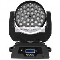 High quality CE RoHs 36 x 10W RGBW Zoom LED Moving Head Wash Light Manufactures