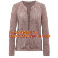 China Hot Sale Professional Sweater Cardigan Women, V-Neck Two-Pocket Cashmere Cardigan Sweater for women on sale