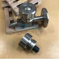 Sanitary Stainless Steel Sample Valve Tri Clamp Style Saniatry Pipe Fitting Sample Valve Manufactures