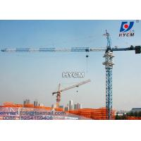 TC5525 10t Capacity Topkit Tower Crane 50mts Freestanding Height Manufactures