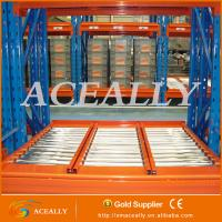 Gravity roller rack,heavy duty warehouse rack Manufactures