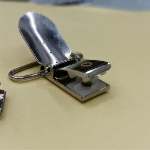 5mm Garment Accessories Ring Metal Regulator Concerning Gallus Clips Manufactures